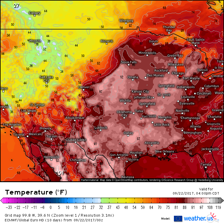 Us Weather Map Temperature Highs Globalinterco - Map us high temperature tomorrow