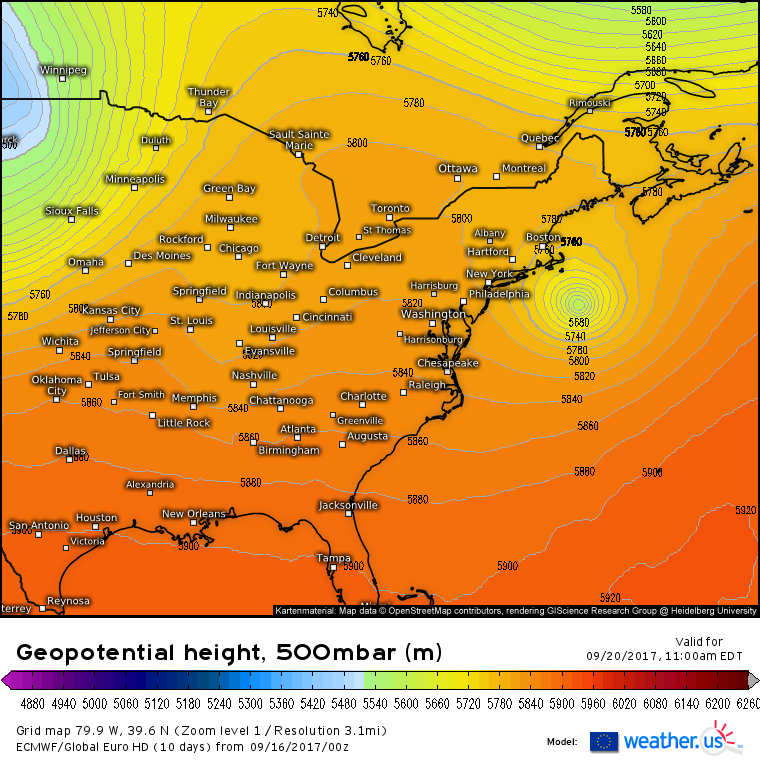 Jose Likely To Make A Close Pass To The US Next Week – blog