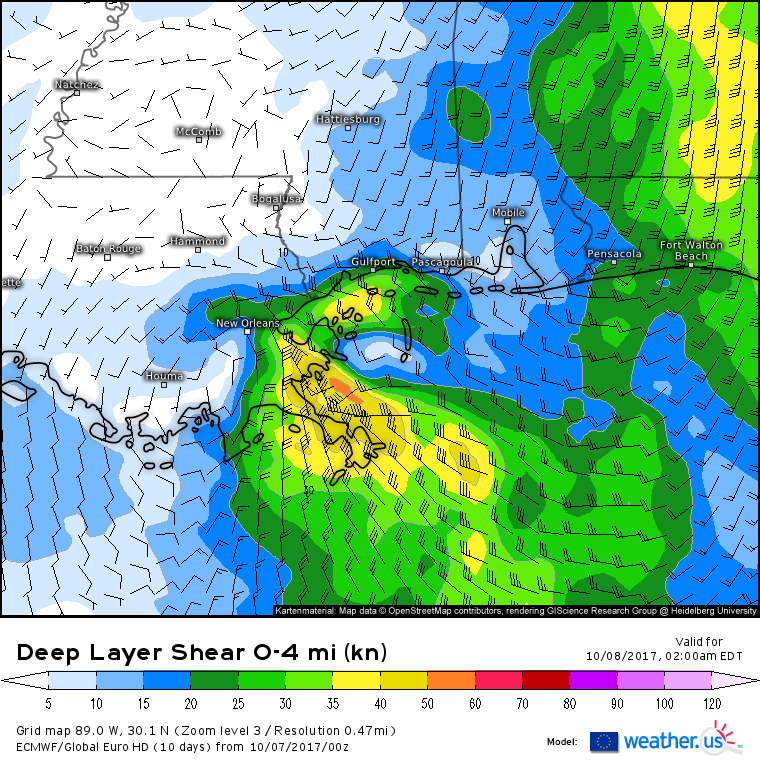 Wind Shear Map Us In Fact There S Going To Be A Negative Wind - Us prevailing winds map