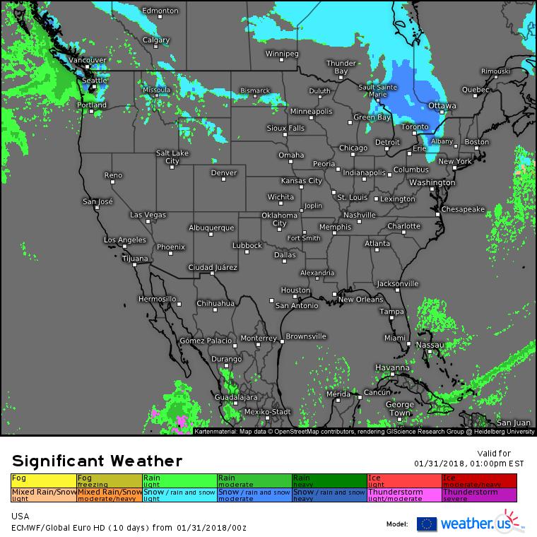 Another Mainly Quiet Day Today – blog.weather.us