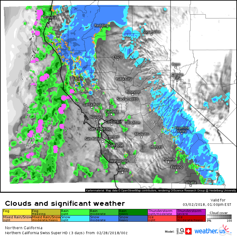 Major Pacific Storm To Deliver Heavy Rain And Mountain Snow To