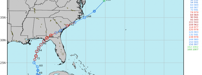 Michael Forecast to be a MAJOR Gulf of Mexico Hurricane and ...