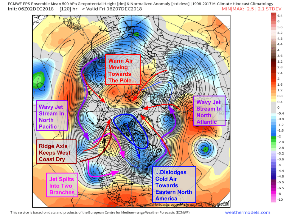 Potential Winter Storm To Usher In Warmer Pattern For East Coast Mid