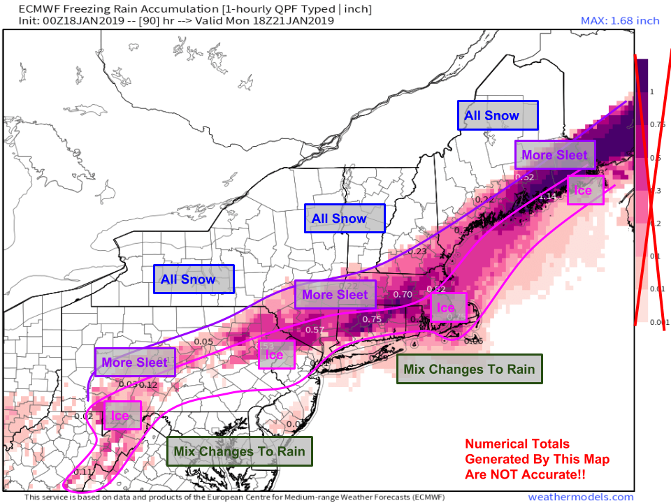 East Coast Florida Map.Major Winter Storm To Impact The East Coast This Weekend Blog